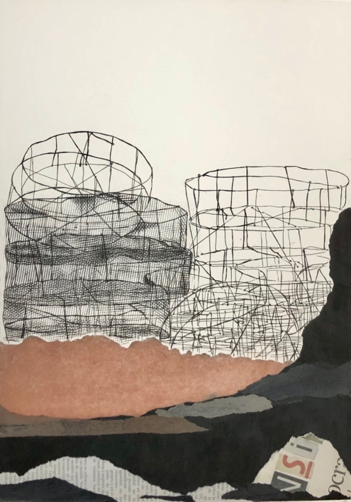 """Nasas de Mogán"" |Obra gráfica de Leticia González Serrano | Compra arte en Flecha.es"
