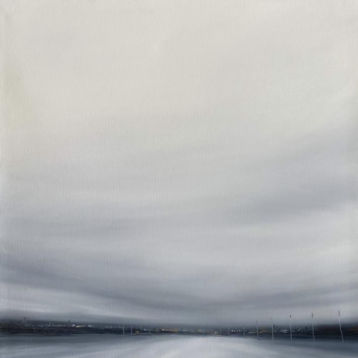 La mancha en blanco |Pintura de DRESU | Compra arte en Flecha.es