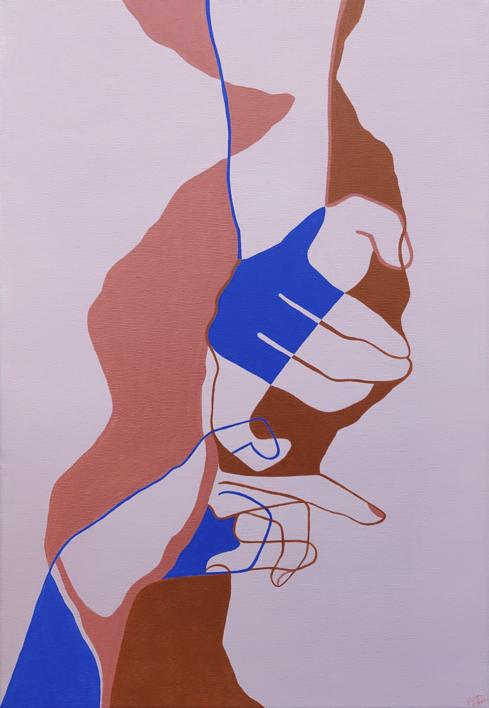 El vínculo |Ilustración de Kaluzova | Compra arte en Flecha.es