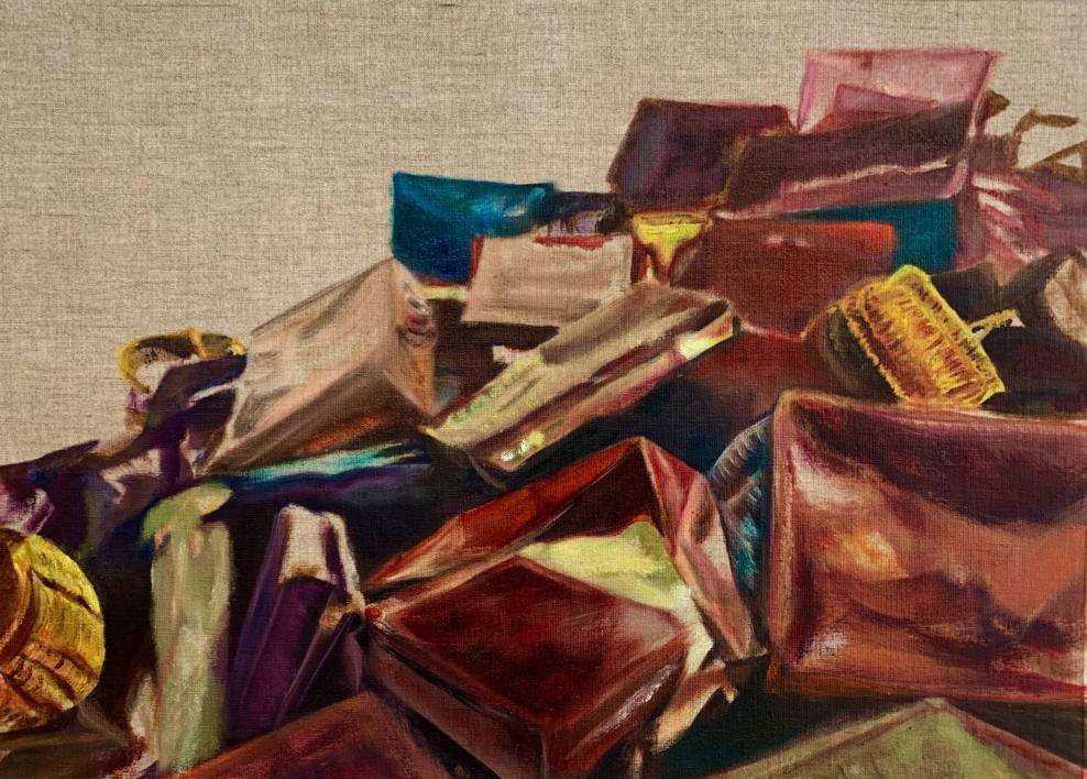 Forgive me, Mondrian |Pintura de ODETTE BOUDET | Compra arte en Flecha.es