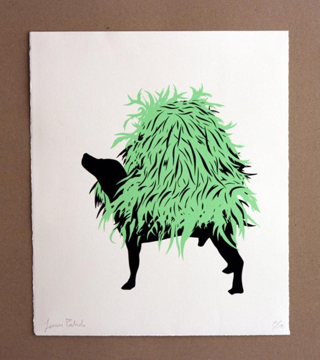 Perro III |Obra gráfica de Javier Pulido | Compra arte en Flecha.es