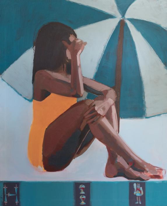 Las siete y media |Pintura de Irene Marzo | Compra arte en Flecha.es