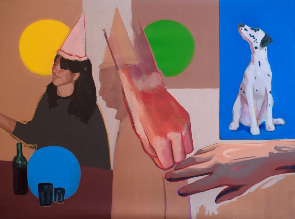 Primer Piso. Puerta Izquierda |Pintura de Irene Marzo | Compra arte en Flecha.es