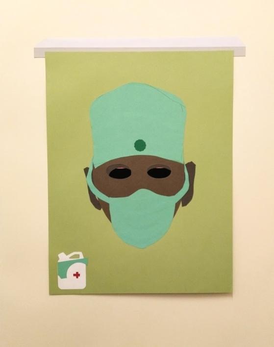 Confinado  I |Collage de Javier Pulido | Compra arte en Flecha.es
