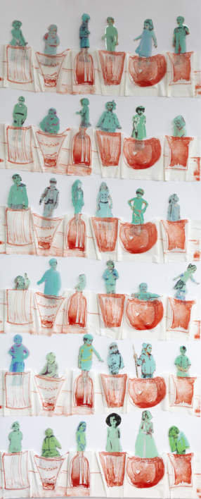 Jardín vertical |Obra gráfica de Ana Valenciano | Compra arte en Flecha.es