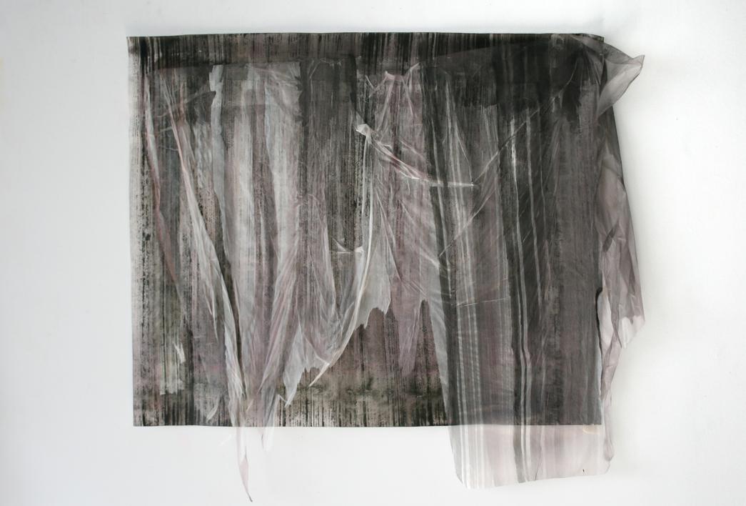PINTURA CON VELO II |Collage de Luciana Rago Ferrón | Compra arte en Flecha.es