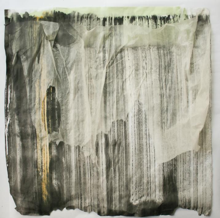 Pintura con Velo |Collage de Luciana Rago Ferrón | Compra arte en Flecha.es