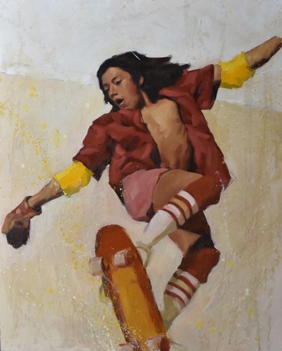 Toque de queda |Pintura de Teresa Infiesta | Compra arte en Flecha.es