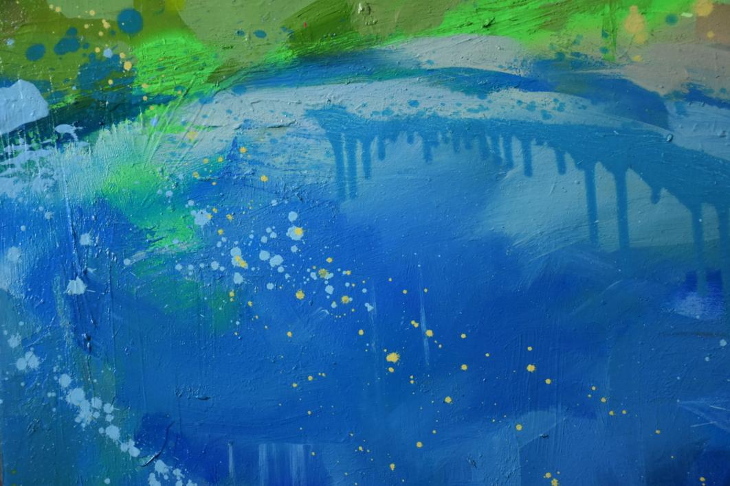 A la de tres...¡bomba! | Pintura de Teresa Infiesta | Compra arte en Flecha.es