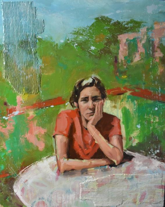 Confinamiento |Pintura de Teresa Infiesta | Compra arte en Flecha.es