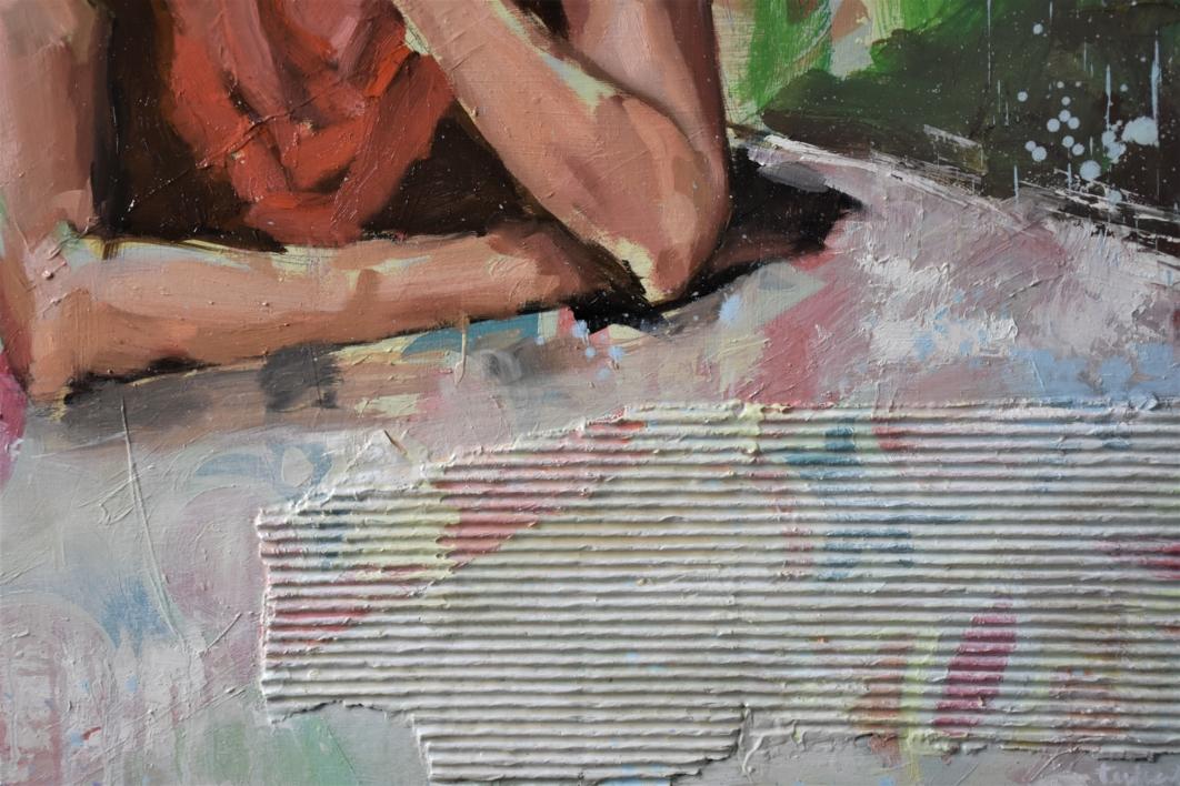 Confinamiento | Pintura de Teresa Infiesta | Compra arte en Flecha.es