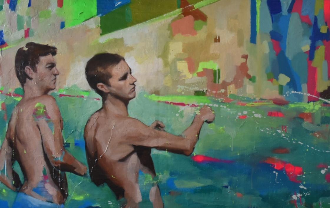 De cuando éramos libres |Pintura de Teresa Infiesta | Compra arte en Flecha.es