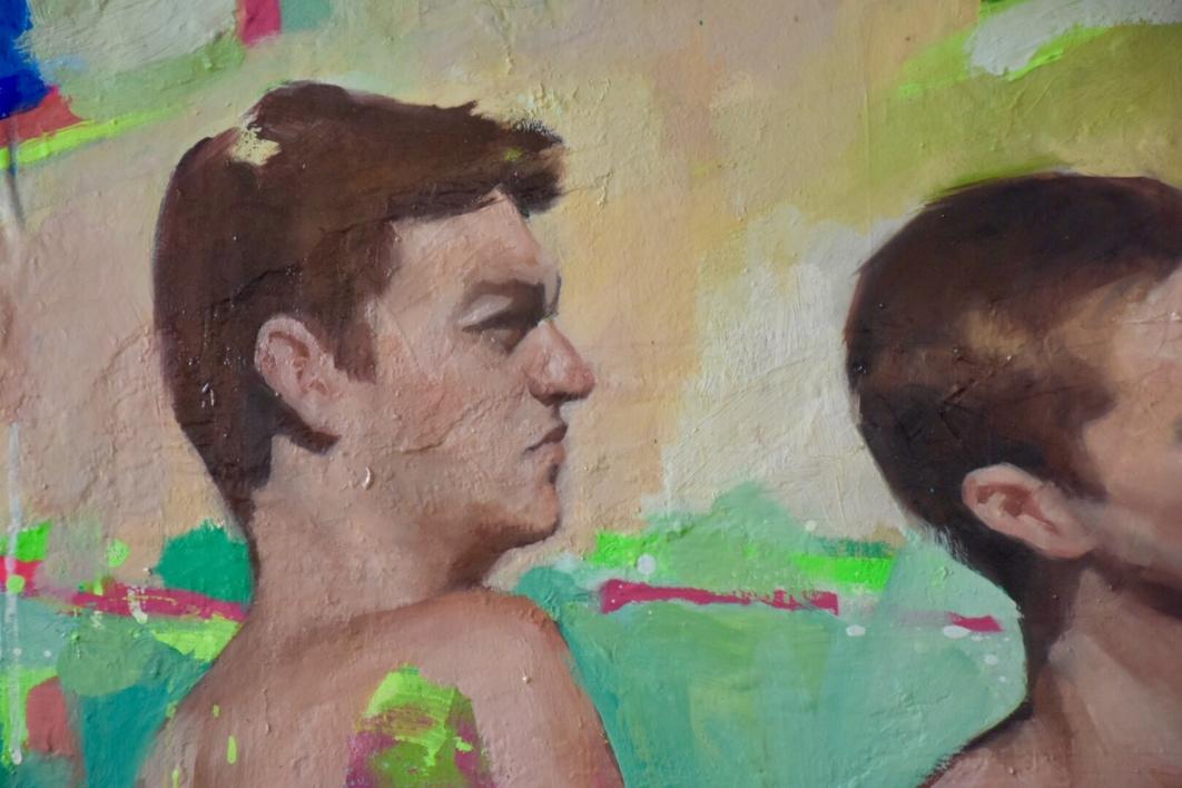De cuando éramos libres | Pintura de Teresa Infiesta | Compra arte en Flecha.es