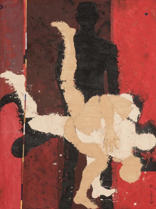 PRUEBA DE FUERZA |Pintura de Luis Granda | Compra arte en Flecha.es
