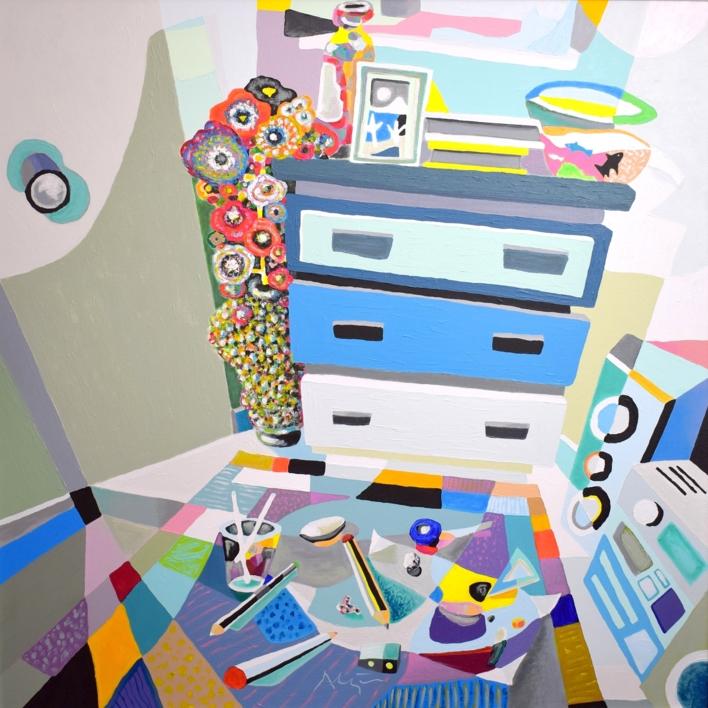 El fuerte |Pintura de ALEJOS | Compra arte en Flecha.es
