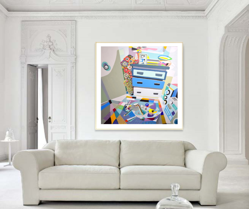El fuerte | Pintura de ALEJOS | Compra arte en Flecha.es