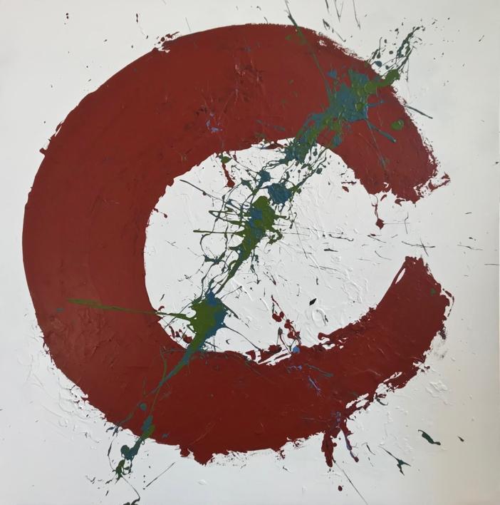 ORGÁNICO |Pintura de ALFREDO MOLERO DOVAL | Compra arte en Flecha.es