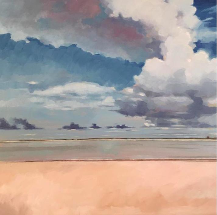 Playa del coto |Pintura de Carmen Campos-Guereta | Compra arte en Flecha.es