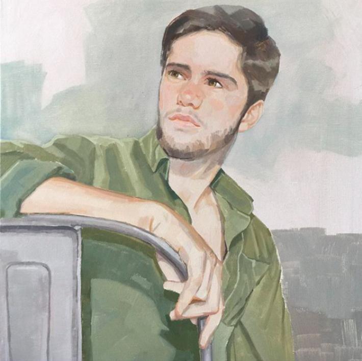 Alvaro |Pintura de Carmen Campos-Guereta | Compra arte en Flecha.es