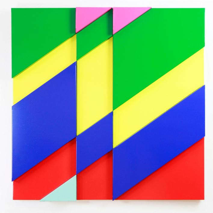 Fractus-diagonalis |Escultura de Cosmoselector | Compra arte en Flecha.es