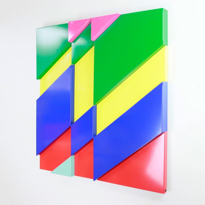 Fractus-diagonalis | Escultura de Cosmoselector | Compra arte en Flecha.es