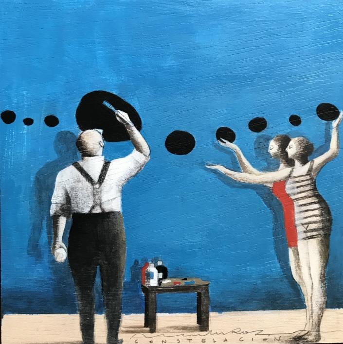 Grandes ideas III |Collage de Menchu Uroz | Compra arte en Flecha.es