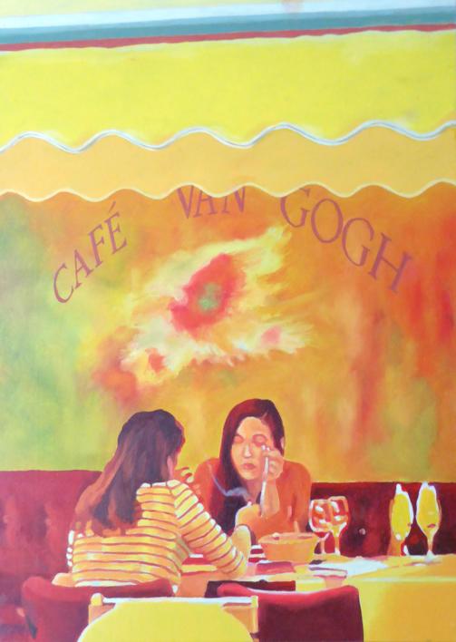 Arlés pareja 2  Pintura de Jose Belloso   Compra arte en Flecha.es