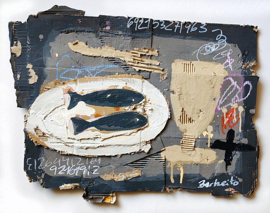 SARDIÑAS  Pintura de BARBEITO   Compra arte en Flecha.es