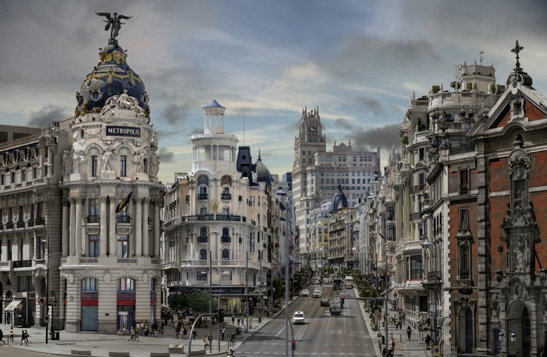 Escena 1 de Madrid  Fotografía de Leticia Felgueroso   Compra arte en Flecha.es