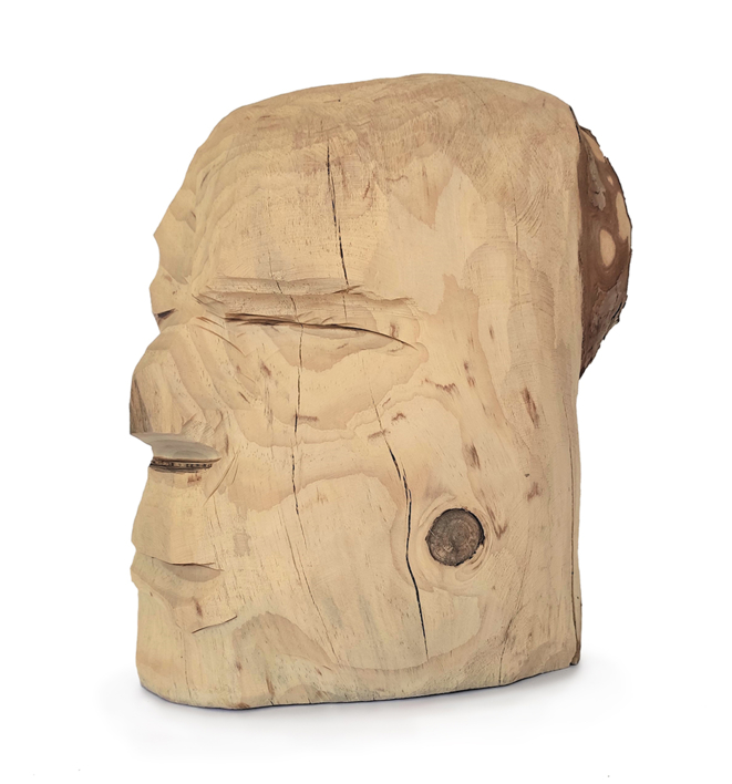 Hombre indio |Escultura de Olga Cáceres | Compra arte en Flecha.es
