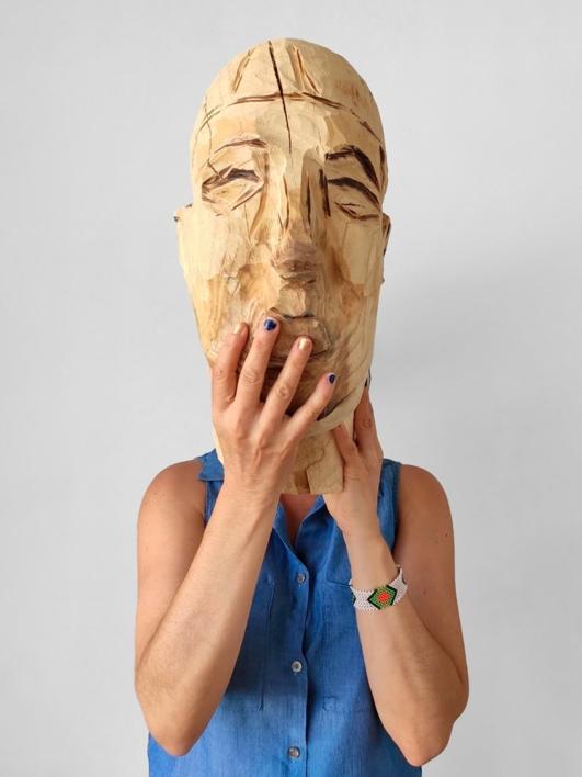 Escultura y fundamento humano (Mujer) |Fotografía de Olga Cáceres | Compra arte en Flecha.es