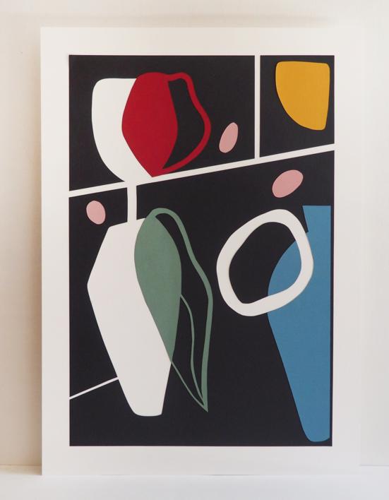 Composición deformada I |Collage de NEKA | Compra arte en Flecha.es