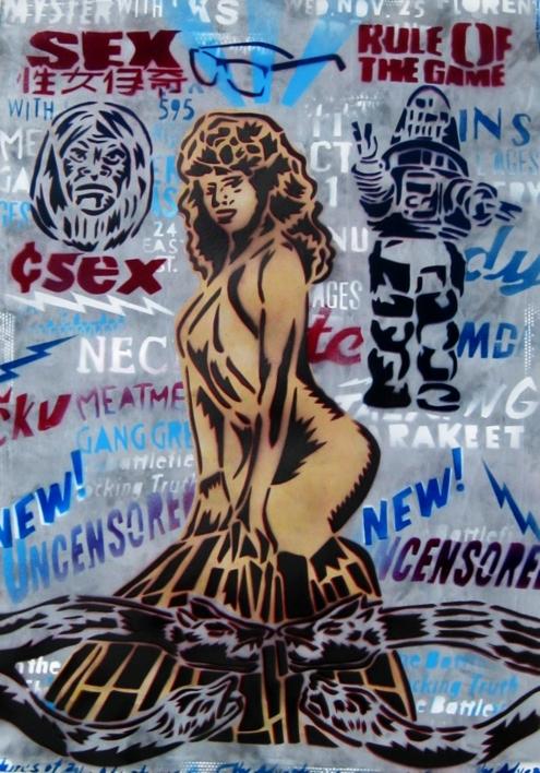 De Folkloricas Vol.1  Pintura de Carlos Madriz   Compra arte en Flecha.es