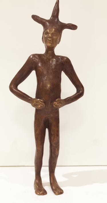 Saltimbanqui III |Escultura de Jenifer Carey | Compra arte en Flecha.es
