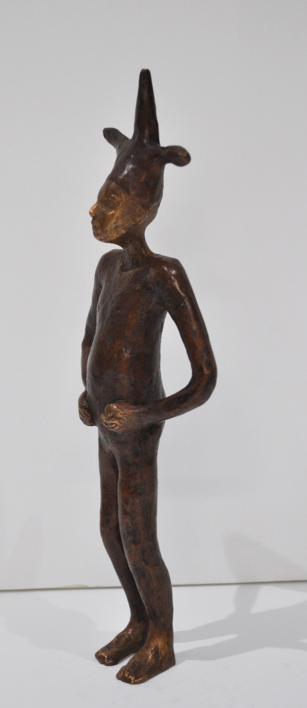 Saltimbanqui III | Escultura de Jenifer Carey | Compra arte en Flecha.es