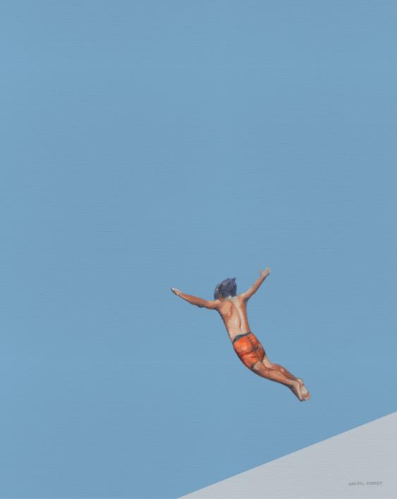 """Icarus"" |Pintura de Daniel Gibert | Compra arte en Flecha.es"