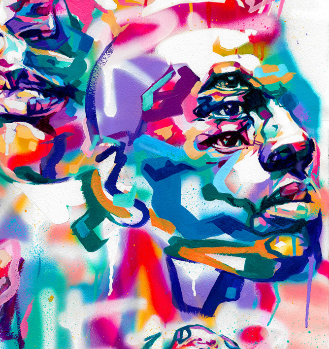 We´re here, we´re queer | Dibujo de Ivory | Compra arte en Flecha.es