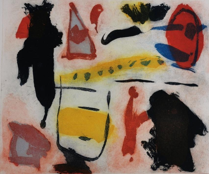 Celebración  Obra gráfica de Eduardo Vega de Seoane   Compra arte en Flecha.es