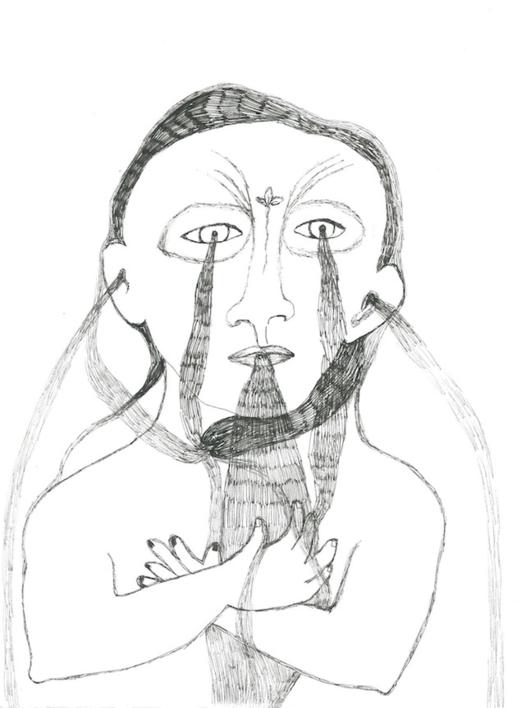 Chorar. Tercera fuente. |Dibujo de Reme Remedios | Compra arte en Flecha.es
