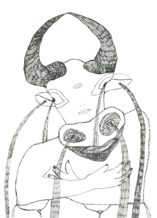 Chorar. Primera fuente. |Dibujo de Reme Remedios | Compra arte en Flecha.es