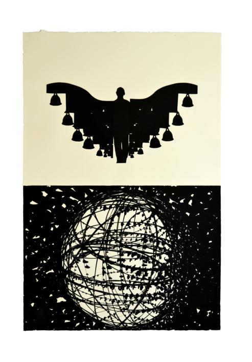 Nepal I |Collage de Javier Pulido | Compra arte en Flecha.es