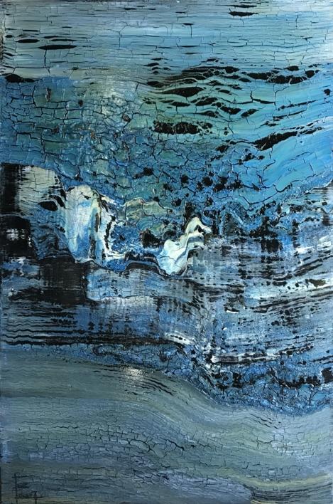 Ondulación |Pintura de Enric Correa | Compra arte en Flecha.es