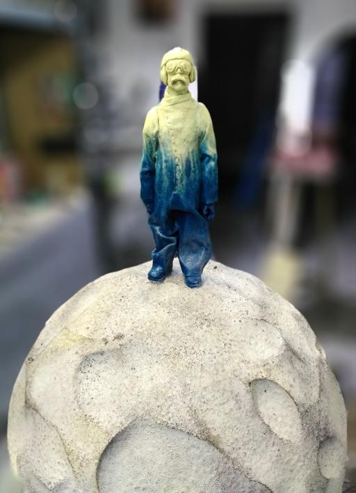 Me pregunto si las estrellas... |Escultura de Reula | Compra arte en Flecha.es