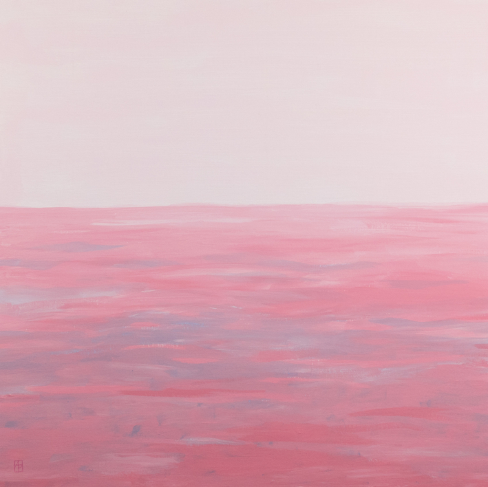 Mar rosa  Pintura de Ana Patitú   Compra arte en Flecha.es