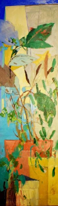 Tiesto rosa |Pintura de Carolina Veramendi B | Compra arte en Flecha.es