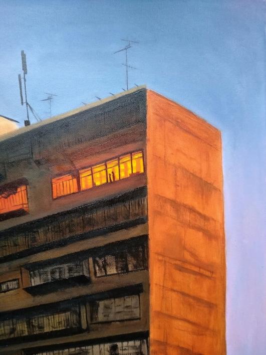 Hasta que amanece | Dibujo de Txina Tequis | Compra arte en Flecha.es