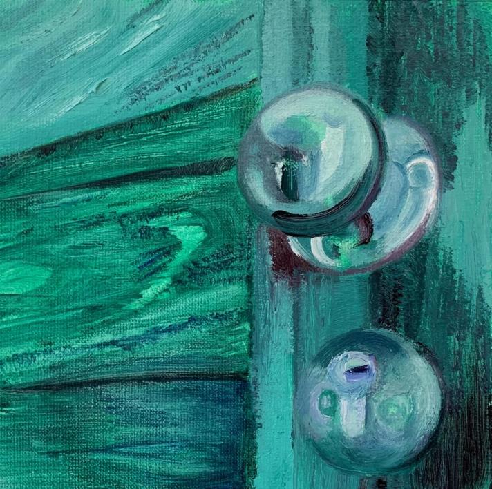 Contre- plongée |Pintura de ODETTE BOUDET | Compra arte en Flecha.es