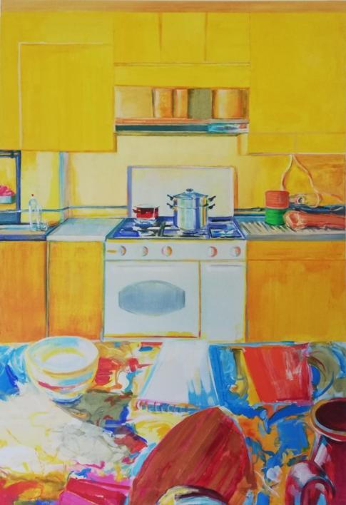 Quim |Pintura de Angeli Rivera | Compra arte en Flecha.es