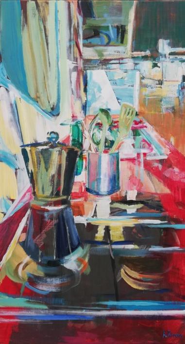 Macarena |Pintura de Angeli Rivera | Compra arte en Flecha.es