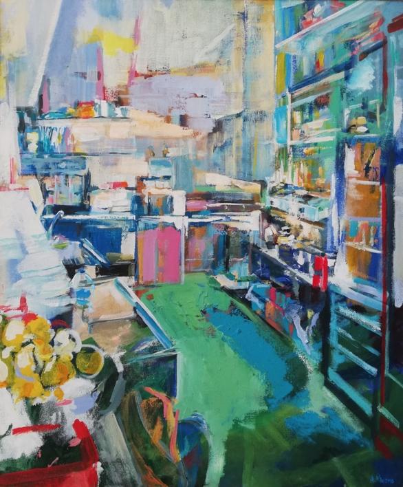 Antonio |Pintura de Angeli Rivera | Compra arte en Flecha.es